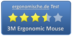 3M Ergonomic Mouse Bewertung