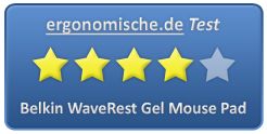Belkin WaveRest Gel Mouse Pad Bewertung