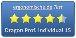 Dragon Professional Individual 15 Bewertung