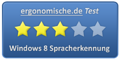 Windows 8 Spracherkennung Bewertung